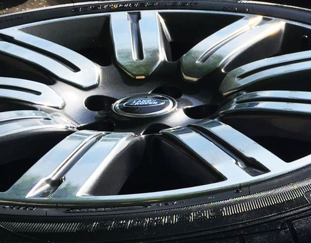Alloy Wheel Polishing Service